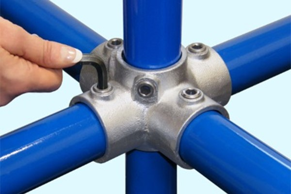 Interclamp fittings - tube clamp / key clamp handrail components