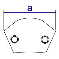 Dimensions Image 3 - 124 - Variable Angle Elbow (15° - 60°)